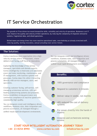 IT Service Orchestration